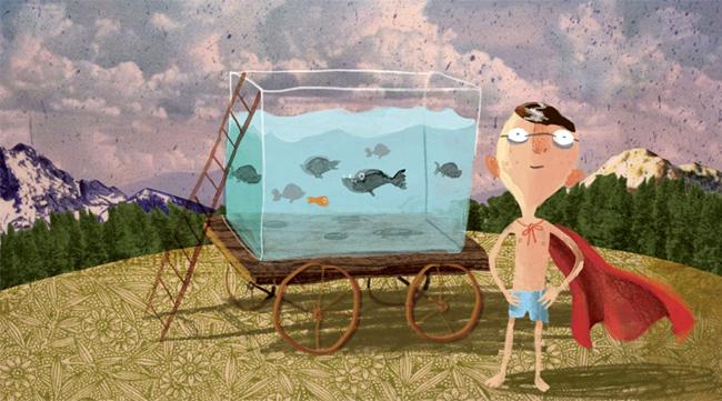 Kinderbücher: Der Junge, der mit den Piranhas schwamm