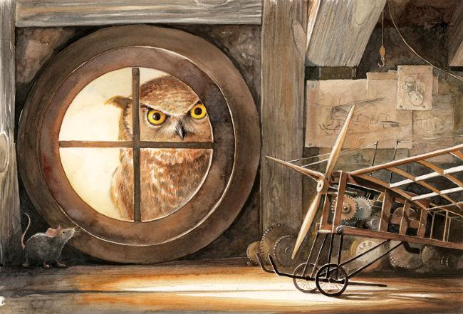 Kinderbücher: Lindbergh - die abenteuerliche Geschichte einer fliegenden Maus