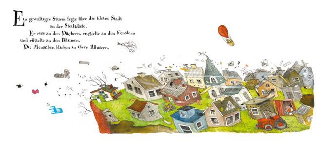 Kinderbücher: Herr Rumpelpumpel fliegt weg