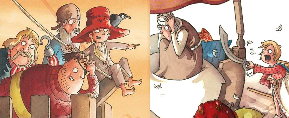 Kinderbücher: Leinen los, Seeräubermoses