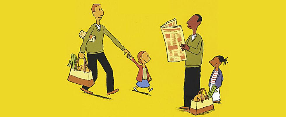 Kinderbücher: Wie ich Papa die Angst vor fremden nahm (Rafik Schami)