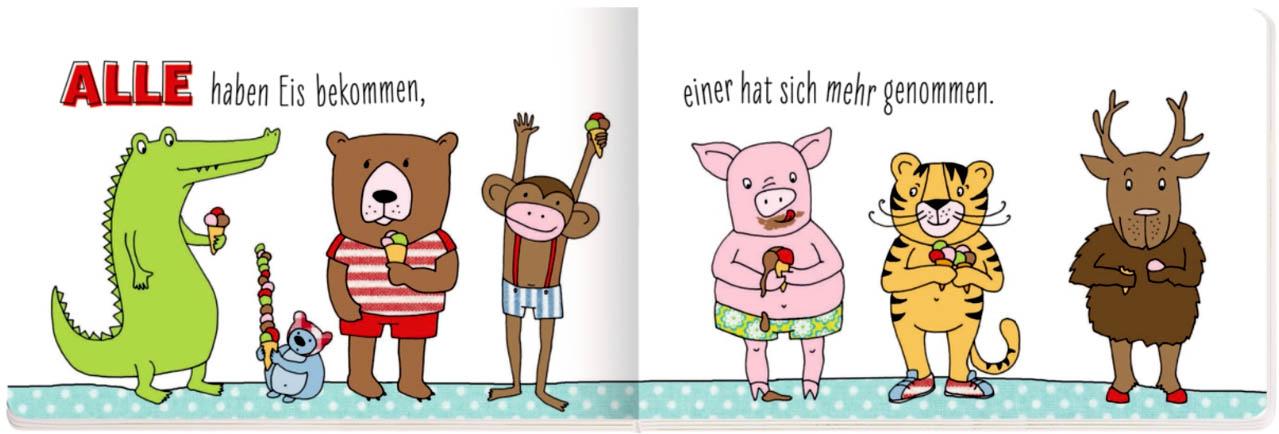 Kinderbücher: Alle waren Haare schneiden