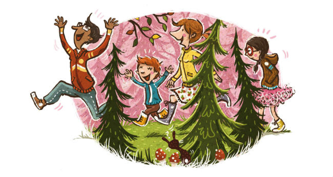 Kinderbücher: Fräulein Schmalzbrot