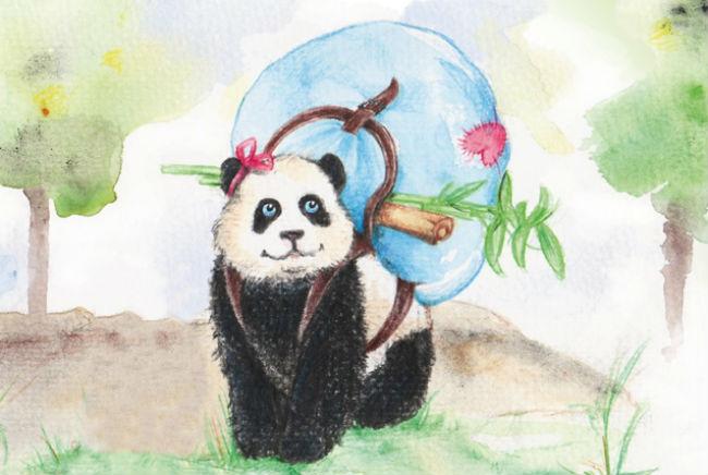 Kinderbuch: Paula Panda