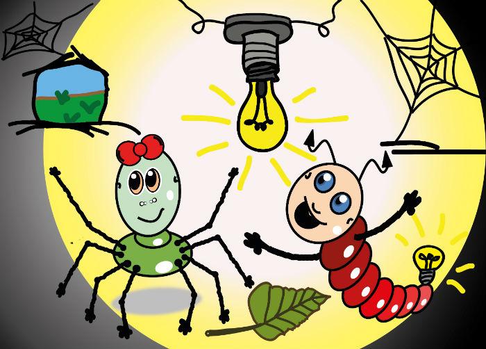 Kinderbuch: Willi Glühwurm und der elektrische Strom