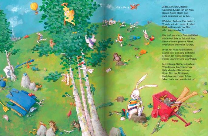 Kinderbücher: Fitz, der Findehase