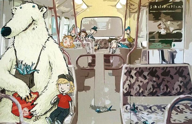 Kinderbücher: Ausflug mit Bär