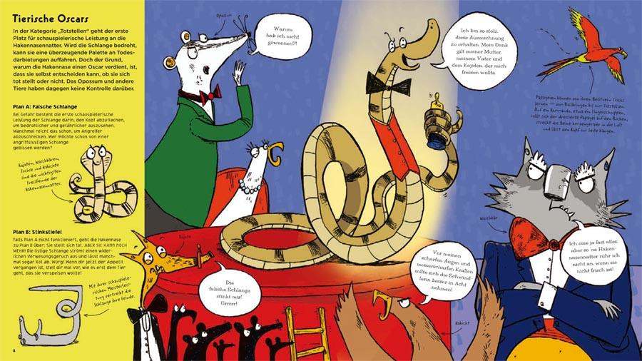 Kinderbücher: Rette sich, wer kann - Die Überlebenstricks der Tiere