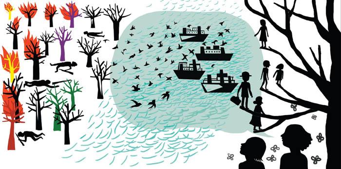 Kinderbücher über Flüchtlinge: Migrando