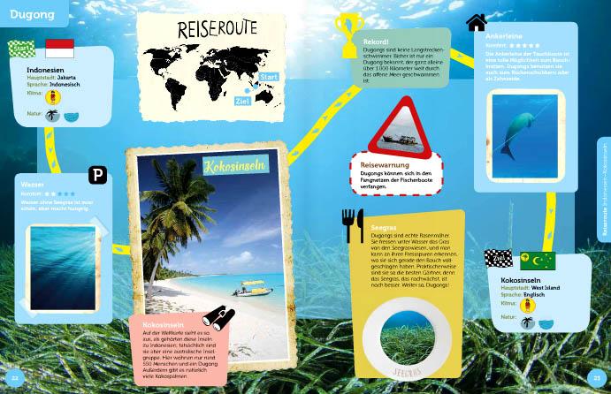 Kinderbücher: Reiseführer für Tiere