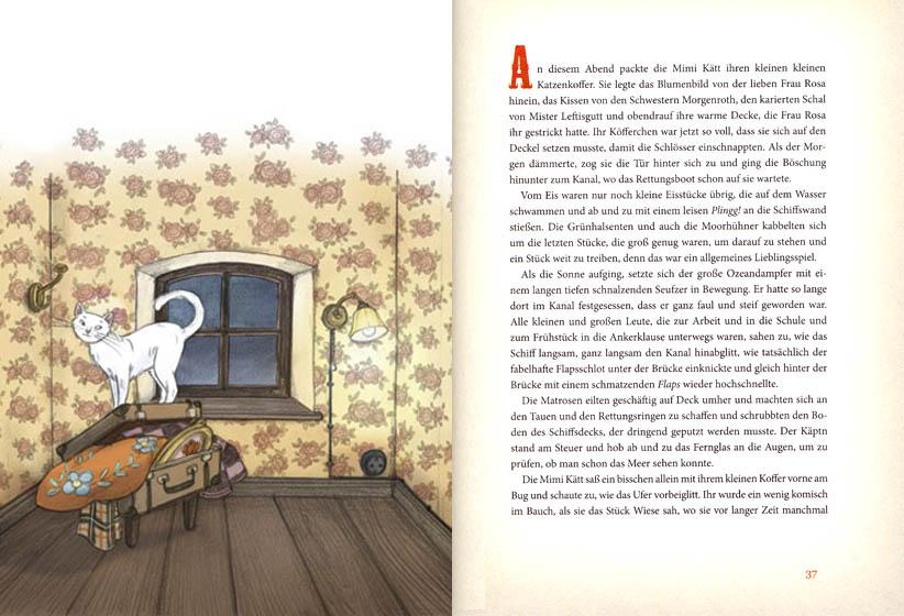 Kinderbücher: Der Käptn und die Mimi Kätt