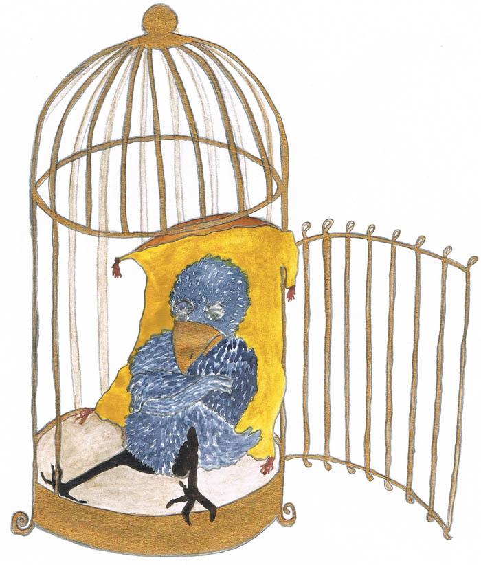Kinderbücher: Der Rabe mit dem goldenen Schnabel
