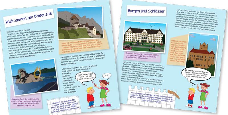 Kinderbücher: Lilly und Anton entdecken den Bodensee