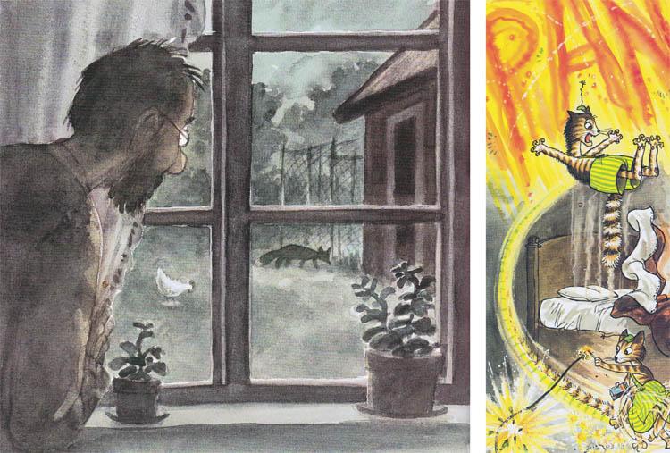 Kinderbücher: Ein Feuerwerk für den Fuchs - Pettersson und Findus