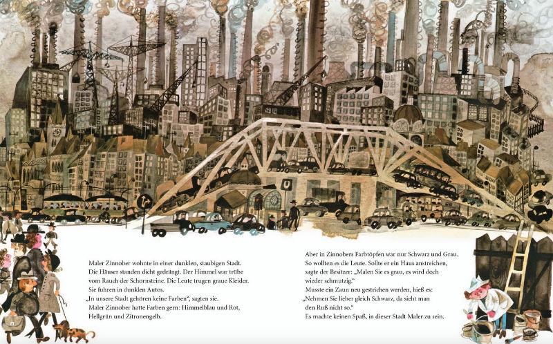 Kinderbücher: Zinnober in der grauen Stadt