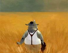 Herr Nashorn macht Urlaub