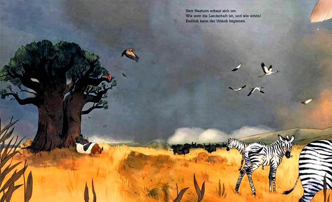 Kinderbücher: Herr Nashorn macht Urlaub