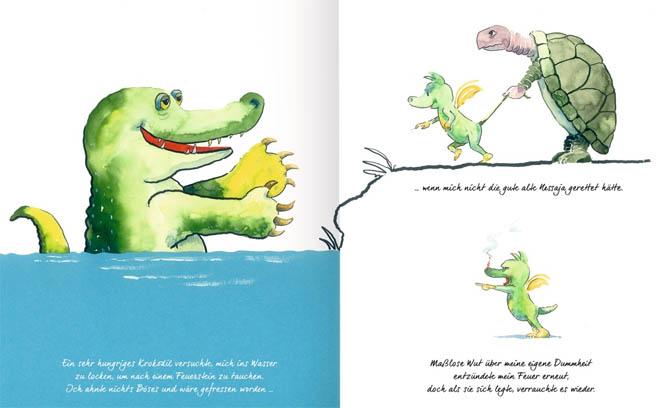 Kinderbücher: Tabaluga und das Geheimnis des Feuers