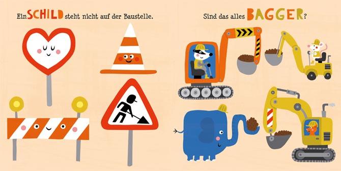 Kinderbücher: Die bunte Baustelle