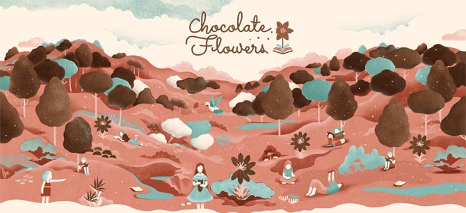 Kinderbuchverlag: Chocolate Flowers