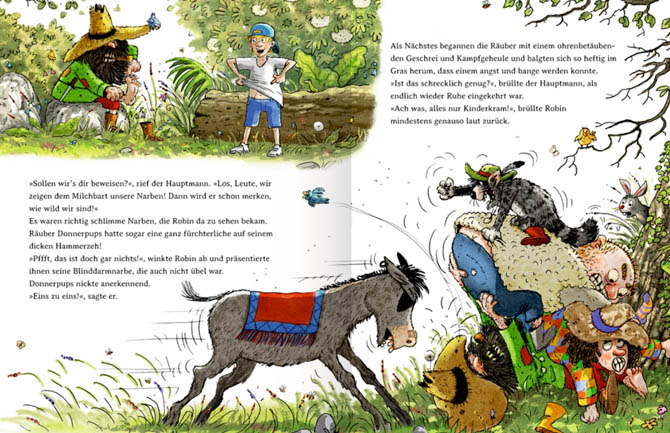 Kinderbücher: Der wilde Räuber Donnerpups - Die Räuberprüfung