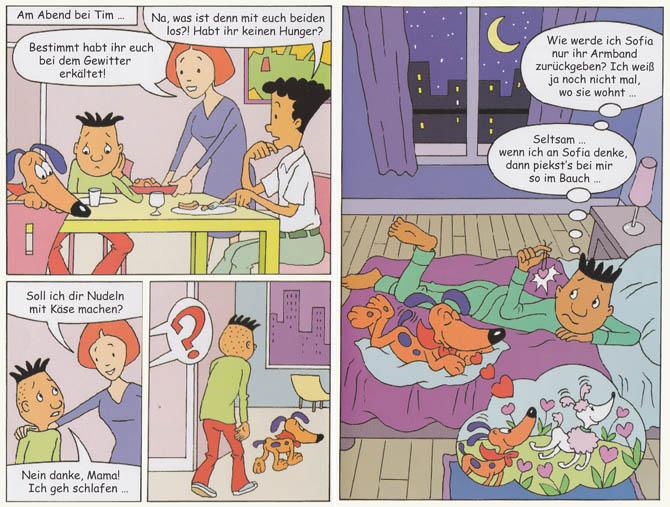 Kinderbücher: Rocky und seine Bande - Tim ist verliebt