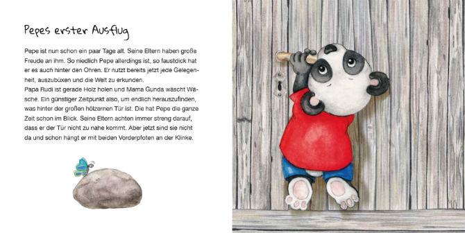 Kinderbücher: Pepe, der kleine Pandabär