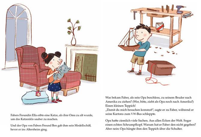 Kinderbücher: Fabers Schatz