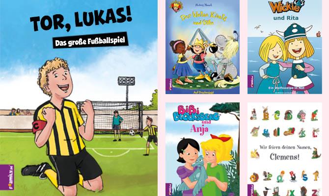 Personalisierte Kinderbücher - Framily