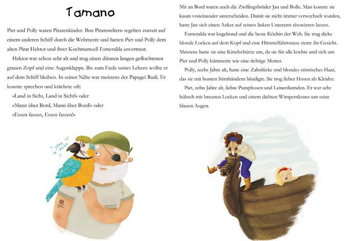 Kinderbücher: Piet und Polly - die Piratenkinder