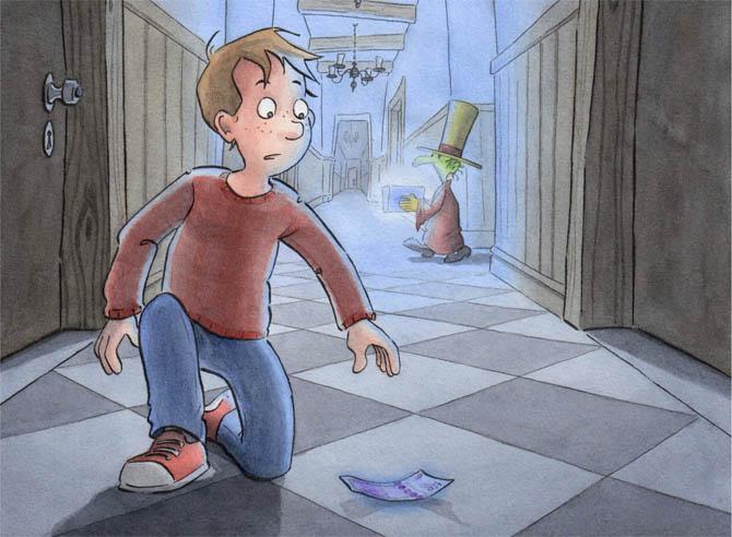 Kinderbücher: Betrug in Snowfields