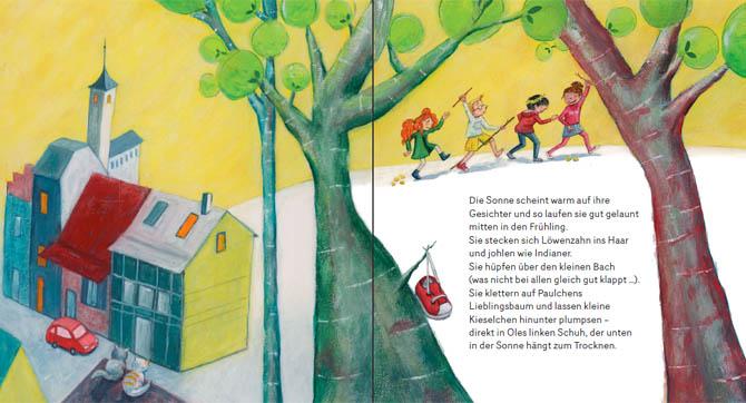 Kinderbuch: Henrietta spürt den Wind