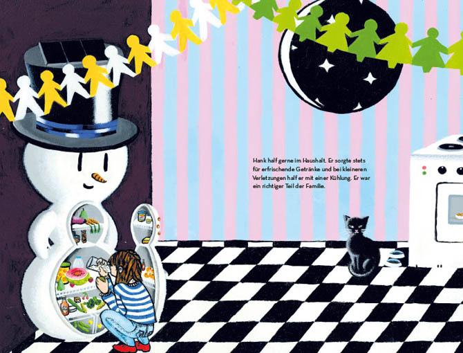 Kinderbücher: Hank der Schneemann von Phillip Maiwald