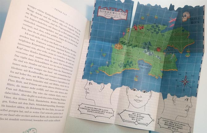 Jugendbuchklassiker: Peter Pan, illustriert von MinaLima