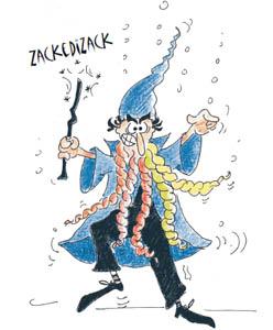 Kinderbücher: Die Blaugrüns und der miesepetrige Zauberer