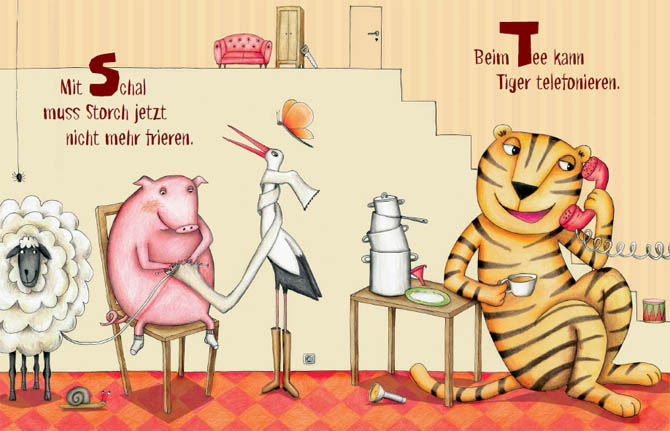 Kinderbücher: Das Alphabet fängt mit den Affen an