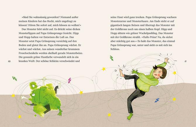 Kinderbücher: Hipp und Hopp retten Papa Grünsprung