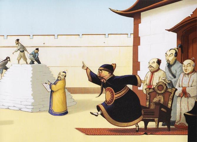 Kinderbücher: Ein Weiser, ein Kaiser und ganz viel Reis - Erfindung des Schachspiels