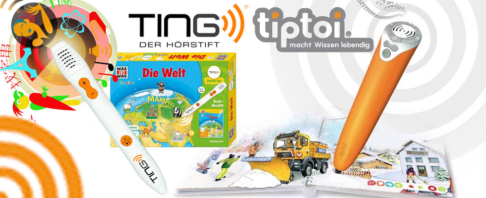 Tiptoi oder Ting - welcher Lesestift ist besser?