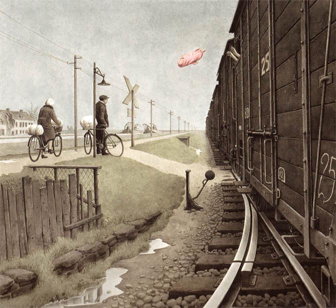 Holocaust-Kinderbuch: Erikas Geschichte - Vander Zee, Innocenti