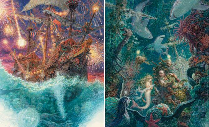 Kinderbücher: Die kleine Meerjungfrau - Hans Christian Andersen, Anton Lomaev