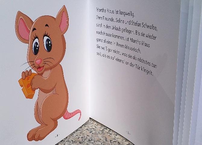 Kinderbücher: Martha Maus reist um die Welt