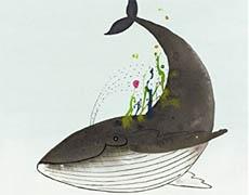 Kinderbücher: Ein Garten für den Wal - Tellegen