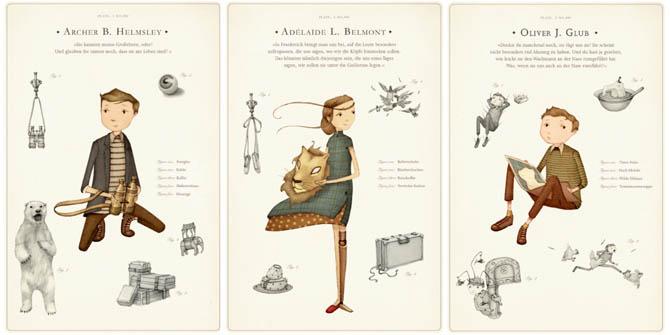 Kinderbücher: Die höchst wundersame Reise zum Ende der Welt - Nicholas Gannon