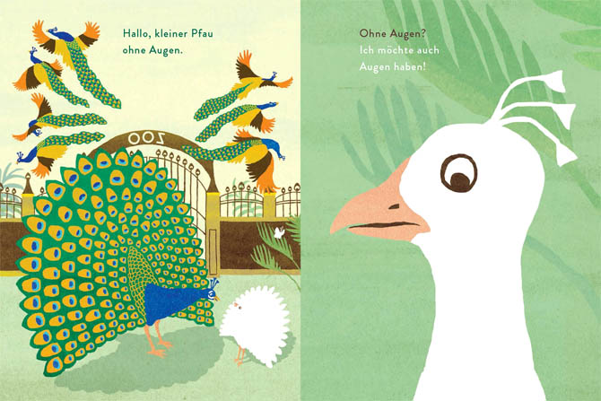 Kinderbücher: Schau, ein Pfau