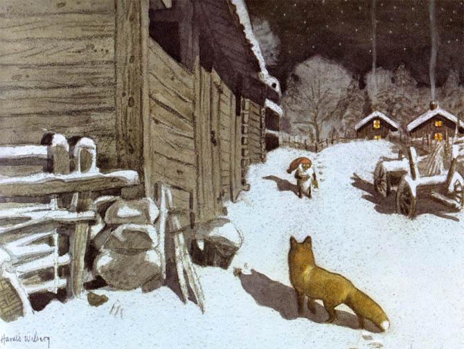 Die schönsten Kinderbücher zu Weihnachten: Tomte und der Fuchs