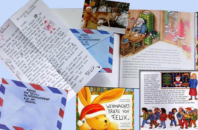 Die schönsten Kinderbücher zu Weihnachten: Weihnachtsbriefe von Felix