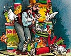 Kinderbücher: Ein Feuerwerk für den Fuchs