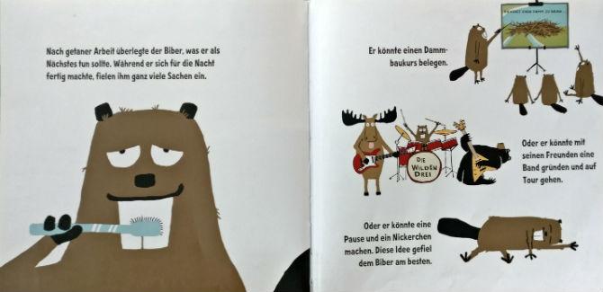 Kinderbücher: Mach mal Pause, Biber!